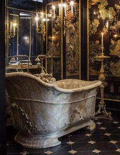 """- Château de Villette: The Splendor of French Decor Photo by Bruno Ehrs for """"Château de Villette. The splendor of French decor"""", published by Flammarion. Beautiful Architecture, Interior Architecture, Future House, My House, Design Rustique, Gothic House, Gothic Room, Aesthetic Rooms, French Decor"""