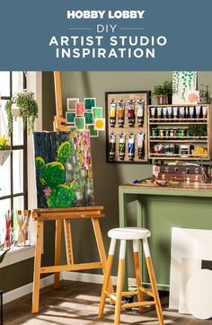 Discover everything you need to personalize your studio with professional supplies from Hobby Lobby®. Art Studio Decor, Spring Cleaning, Hobby Lobby, Getting Organized, Home Accents, Home Organization, Art Supplies, Diy Home Decor, Projects