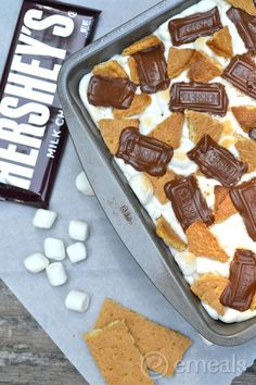 Smores Brownies. These are seriously delicious!.