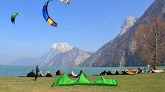 Kitesurfen am Traunsee April 2015 Bild :Hoermaninger Lake District, Austria, Outdoor Gear, Beautiful, Round Round, Destinations, Viajes, Pictures
