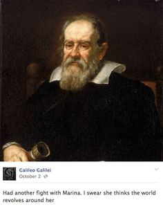 Galileo Galilei was an italien physicist an inventer. he invented the telescope and used it to found four moons of jupiter.