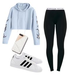 """Untitled #40"" by caitlinaube on Polyvore featuring adidas"
