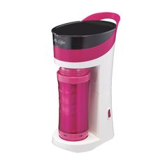 Mr. Coffee® Pour! Brew! Go! Personal Coffee Maker - Pink