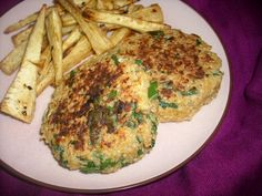 Cheesy Spinach Quinoa Patties
