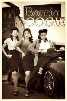 Barrio Boogie The Hermosa in the Middle. Chicano Love, Chicano Art, Arte Lowrider, Lowrider Trucks, Arte Hip Hop, Cholo Style, Pin Up, Mexican Heritage, Chicano Tattoos
