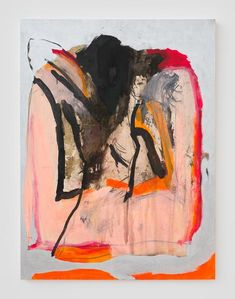 Bianca Beck. 2014-2015, ink, charcoal, acrylic and oil on panel