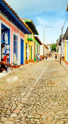 Colorful traditional houses in the colonial town of Trinidad, best-preserved city in the Caribbean, Cuba | 16 Reasons why Cuba is so Loved by Tourists although is still under Communist Regime