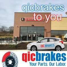 Brake pads and or rotors swapped right at work. The mobile brake service mechanic services vehicles like yours almost anywhere. The days of taking off to have rotors and brake pads replaced are over. Get your brakes serviced, Acura, Audi, BMW, Buick, Cadillac, Chevrolet, Chrysler, Ford, GMC, Honda, Hyundai, Infiniti, Isuzu, Jeep, Kia, Lexus, Mazda, Mercedes Benz, Mercury, Nissan, Oldsmobile, Plymouth, Pontiac, Saab, Toyota, Volkswagen, and Volvo. #qicbrakes #trump this #deal qicbrakes.com