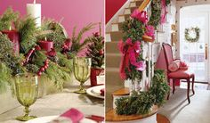 DREAMING OF A PINK CHRISTMAS -  I am dreaming of a pink Christmas...  I love to add  a little pink into Christmas decorations.   Go...