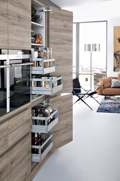 Modern Kitchen Design Modern kitchen designs add a unique touch of elegance and class to a home. Check out the best ideas for - Modern kitchen designs add a unique touch of elegance and class to a home. Check out the best ideas for Home Decor Kitchen, Interior Design Kitchen, Modern Interior Design, Kitchen Ideas, Modern Interiors, Decorating Kitchen, Design Bathroom, Kitchen Room Design, Pantry Ideas