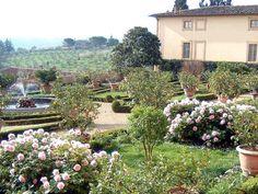 Italy, Gardens and Parks: Villa Poggio Torselli, San Casciano Val di Pesa, Toscana
