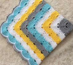 Virus Blanket - Crochet Pattern