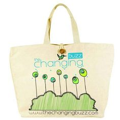 tote bag design...www.thechangingbuzz.com