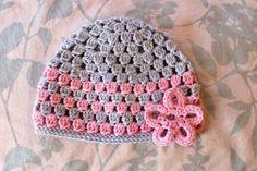 Como tejer gorros a crochet para niños
