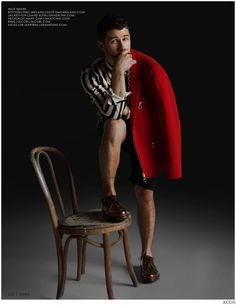 Nick Jonas Models Black Wardrobe for Kode Cover Shoot image Nick Jonas 2014 Kode Photo Shoot 004 800x1035
