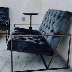 Chair goals #homedecor #homeworewhat #details #indigo #velvet #interiordesign #inspiration #interiortalk