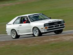 Where it all started and where it's all at, still... Audi UrQuattro!