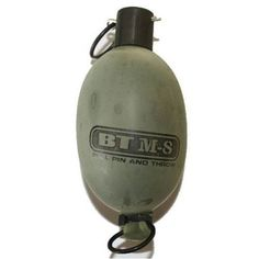 BT M8 Pull Pin Paintball Grenade with Real Paint Fill by Empire. $4.95. BT paint grenades are the first paint grenades of its kind to use legendary RPS paint fill. Features include exceptional marking ability and consistent marking upon impact. These grenades are capable of leaving a path of paint in excess of 30 feet, which could take down an entire platoon of enemy troops. Bright yellow fill leaves a substantial mark.