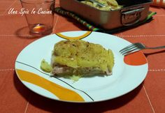 Tortino di patate con stracchino e caciocavallo