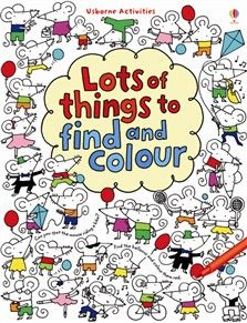 Lots of things to find and colour by me!