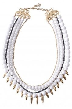 Definitely not your mother's pearls!  This limited edition Mischa necklace is gorgeous!
