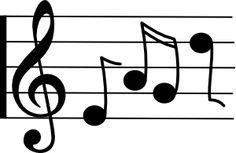 music clip art free clip art music notation eighth note b w rh pinterest com
