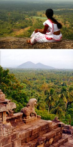 The beauty and the beast, Yapahuwa Fortress, Sri Lanka #SriLanka #Yapuhawa