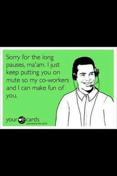 Hahaha! This one is for Josh and several of our friends who have been there!