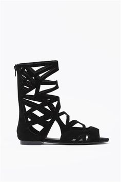 Solo Sandals - interesting take on a cut out look!