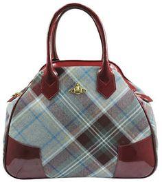 Vivienne Westwood Winter Tartan Bag MacPherson