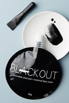 Slide View: 1: Blackout Activated Charcoal & Coconut Face Mask