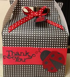 Goodie box I made for Leighton's birthday party using my cricut and tags bags boxes and more 2! So cute!