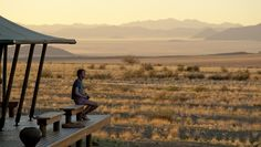 """travelplusstyle: """"Wolwedans Boulders Camp, Namibia The essence of Boulders lies in the tranquility and solitude of its desert location, in the warmth of sunrays, in the afternoon wind, whispering in. Go Camping, Camping Hacks, Desert Location, Namib Desert, Fun Deserts, Morning View, Bouldering, Best Hotels, Trip Planning"""