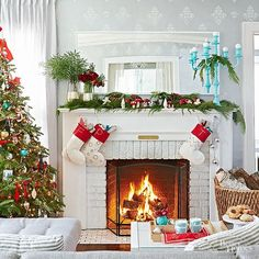 It's beginning to look a lot like Christmas. Get cozy and prepare to be inspired by these festive and sophisticated homes.