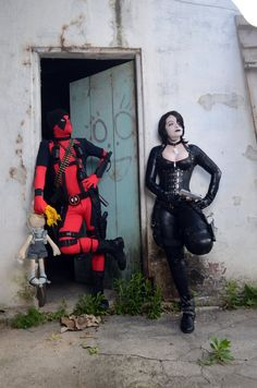 Deadpool & Domino: Weird friendship by S-Lancaster #cosplay