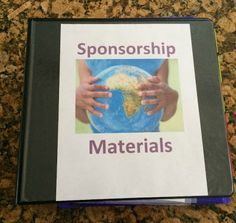Tips on how to organize child sponsorship materials and letters-  nairobikids.blogspot.com