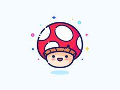 Mushoom set series web illustrator icon illustration minimal outline small little cute man vector pin sticker design character guy boy mushroom wallpaper Mushoom Mushroom Art, Cute Drawings, Sticker Design, Cute Art, Logo Design, Flat Design, Stuffed Mushrooms, Character Design, Stickers