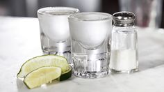 Recipe forChilled Tequila Shots With Lime and Salt from @nytdining's drink generator.