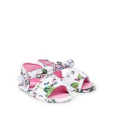 44c57f2a604b Baby Girl Clothes. Ted Baker BabyWhite SandalsCute BowsBaby ...