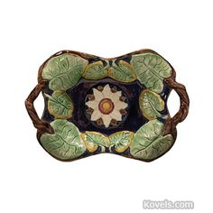majolica pottery | Antique Majolica | Pottery Porcelain | Antiques & Collectibles Price ...