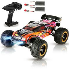 Flyhal FC600 Two Batteries RTR 1/16 2.4G 4WD 60km/h Brushless RC Car US$79.10 (~A$110) CN Stock Delivered @ Banggood Rc Drift Cars, Brushless Rc Cars, Monster Trucks, Banggood Coupon, Prezzo, Radio Control, How To Run Longer, Vehicles, Models