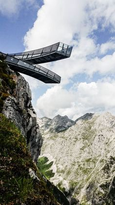 AlpspiX Viewing Platform | Wallmann Architekt #mountain #landscape