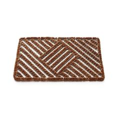 Boot Scraper Doormat with wire and coir bristles from Crate and Barrel