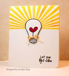 CK Let your light shine by Cammie - Cards and Paper Crafts at Splitcoaststampers