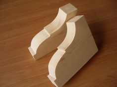 Wooden Corbels /pine Brackets /shelf brackets ph