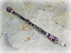Celtic Triquetra pentagram magic wandwiccan by Cronesmagicalcrafts, $36.00