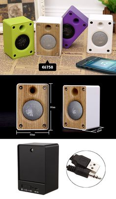 Candy Color Mini Aux-in Speaker| Buyerparty Inc.