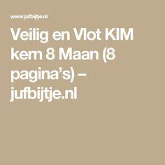 Veilig en Vlot KIM kern 8 Maan (8 pagina's) – jufbijtje.nl