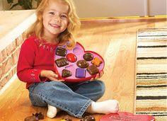 Valentine's Gift Chocolate Idea for Kids
