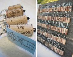 Chaveiro de rolha Day, Blog, Crafts, Design, Wedding Stuff, Inspiration, Engagement Party Favors, Cheap Wedding Ideas, Corks